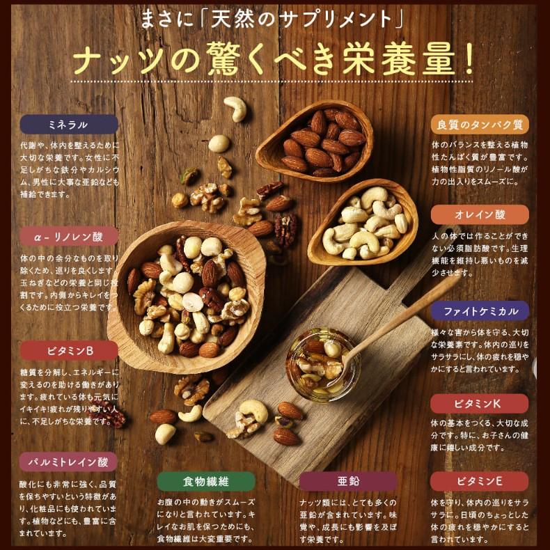 ななつのしあわせミックスナッツ 選べる3種類の味わいサムネイル07