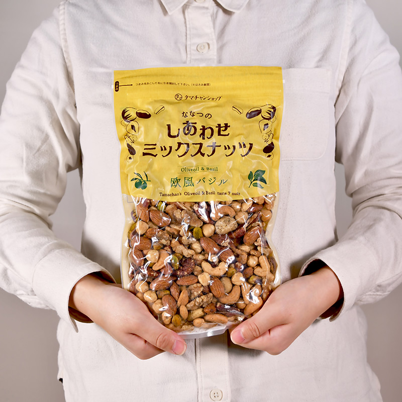ななつのしあわせミックスナッツ 選べる3種類の味わいサムネイル12
