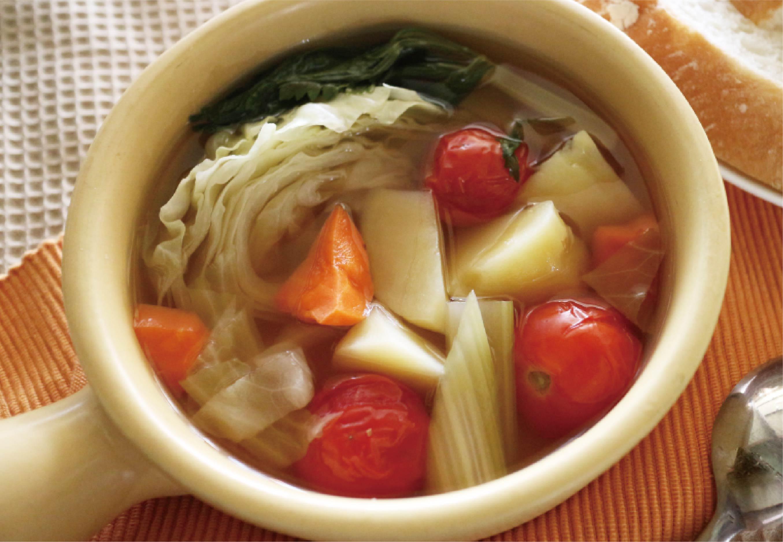 野菜スープだし