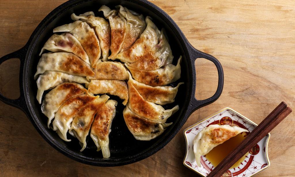しあわせレシピ・第14回<br>食物繊維たっぷり! もち麦入りレンコン鶏餃子