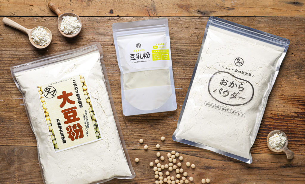 「おからパウダー」「大豆粉」「豆乳粉」って、どう違う?<br> 低糖質&ヘルシー! 大豆パウダー特集