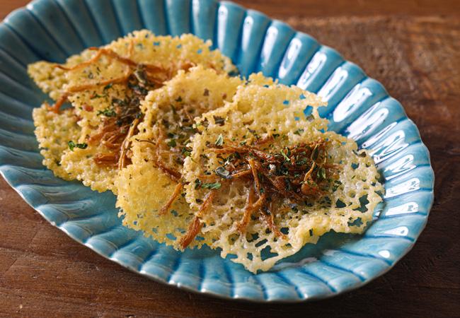 エノキーニョのカリカリチーズ