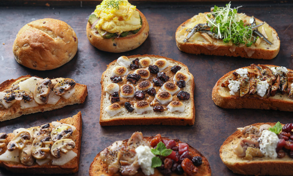 しあわせレシピ・第20回 <br>三十雑穀パンで楽しむ! タマチャン流オープンサンド6選