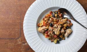 節分におすすめ! <br>「ななつのしあわせミックス煎り豆」と鶏肉のハーブ煮込み